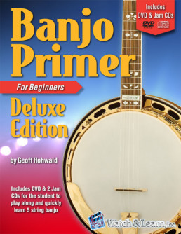 banjo primer for beginners deluxe edition