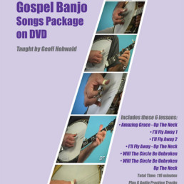 gospel banjo song book