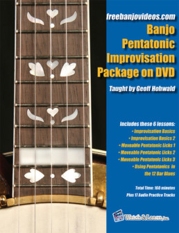 pentatonic banjo improvisation book